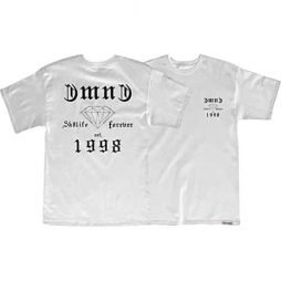 Diamond Skate Life Short Sleeve L-White T-Shirt