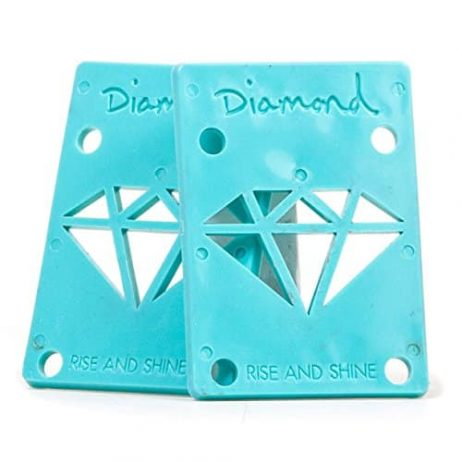 Diamond Supply Co Teal Riser Pads - 1/8""