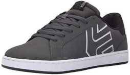 Etnies Men's Fader LS Lace Up, Dark Grey/Black/White, 9 D US