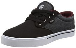 Etnies Men's Jameson 2 Eco Skate Shoe, Black/Red/Black, 12 D US