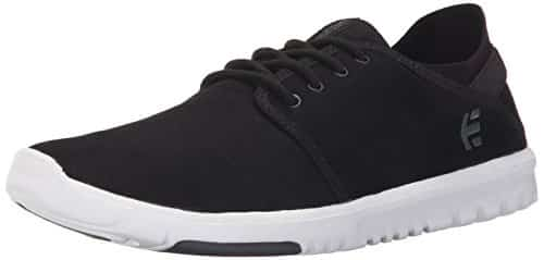 Etnies Men's Scout Lace Up, Black/Dark Grey, 7 D US