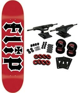 FLIP SKATEBOARDS HKD RED 7.5 Complete Skateboard
