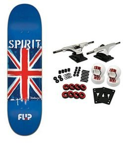 "FLIP Skateboard Deck ROWLEY SPIRIT 8.25"" with GRIPTAPE"