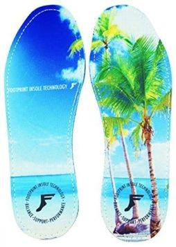 Footprint Insole Technology High Profile Kingfoam Flat Beach Insole