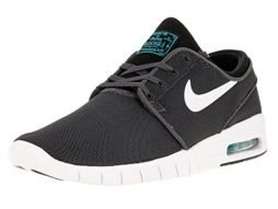 Nike Men's Stefan Janoski Max dark grey/white-black-gamma blueSneakers - 10.5 D(M) US