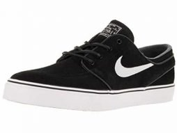 NIKE SB Zoom Stefan Janoski OG (Black/White-Gum Light Brown) Men's Skate Shoes-10
