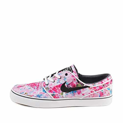 Nike Sb Janoski Red With White Flowers Black Women Air Jordans 4 ... 6af8d0fb24