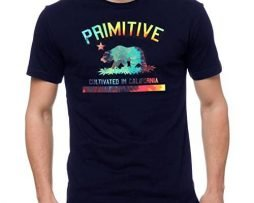 Primitive Men's Cultivated Tripper SS T Shirt Navy Blue