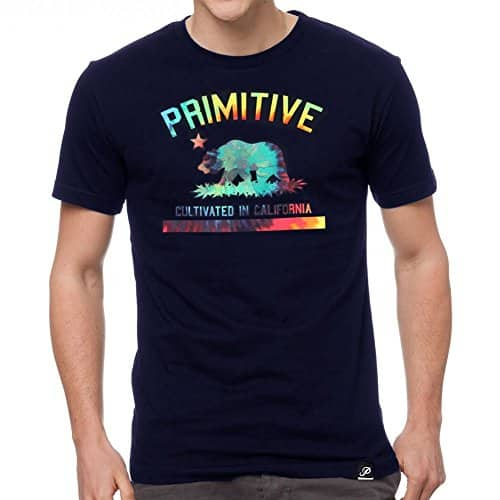 Primitive-Mens-Cultivated-Tripper-SS-T-Shirt-Navy-Blue-0