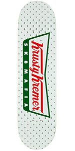 Sk8mafia Krusty Kremer 2 Skateboard Deck - White - 8.0in