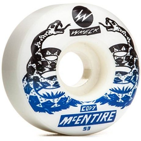 Wreck W2 Cody McEntire Tread Skateboard Wheels - 53mm