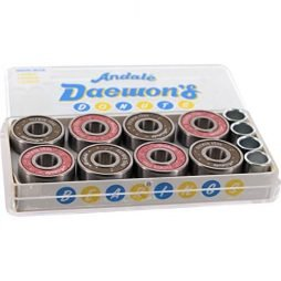 Andale Bearings Daewon Song Donuts Precision Skateboard Bearings