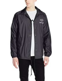 Diamond Supply Co Men's OG Script Brilliant CO.aches Jacket