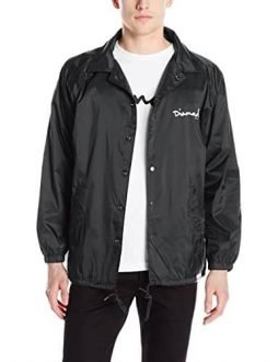 Diamond Supply Co Men's OG Script Coach's Jacket