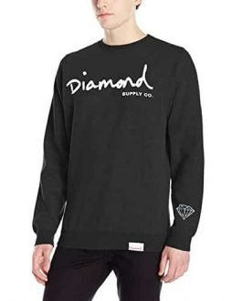 Diamond Supply Co Men's OG Script Crewneck Sweater