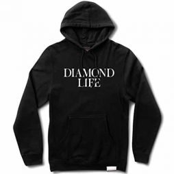 Diamond Supply Diamond Life Hoodie - Black