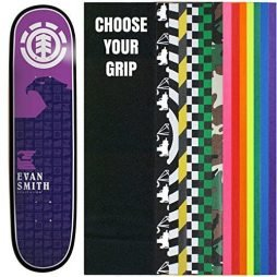 ELEMENT Skateboard Deck SMITH CHROMATICS 7.63 with GRIPTAPE