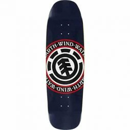 Element Topo Seal Skateboard Deck -9.12x32.62 Featherlight Assembled as COMPLETE Skateboard