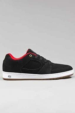 Es Accel Slim Black Mens Skateboarding Shoe (10)