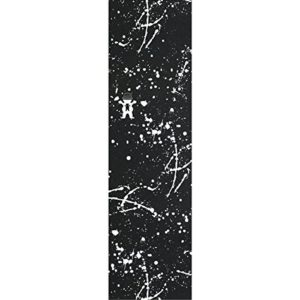 "Grizzly Boo Johnson Splatter Black Grip Tape - 9"" x 33"""