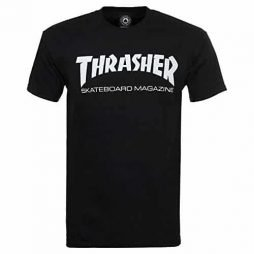 Thrasher Skate Mag Short Sleeve T-Shirt-Black