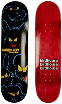 Birdhouse Skateboards David Loy Bad Animal Deck, 8.25-Inch
