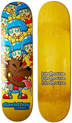 Birdhouse Skateboards David Loy Invasion Deck, 8.125-Inch