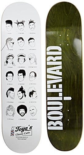 Blvd Skateboards One Off Danny Montoya Deck, 8.125-Inch