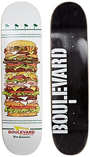 Blvd Skateboards One Off Rob G Deck, 8.25-Inch