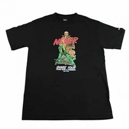 Mighty Healthy T-shirt Stranger Black Size Small