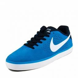 NIKE Mens SB Paul Rodriguez CTD LR Photo Blue/White-Obsidian Suede