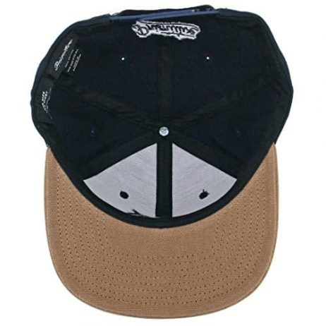 "Primitive Skate ""Classic P Canvas"" Snapback Hat (Navy) Men's 2 Tone Cotton Cap"