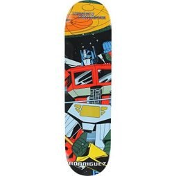 "Primitive Skateboarding Paul Rodriguez Transformers Optimus Prime Skateboard Deck - 7.8"" x 31"""