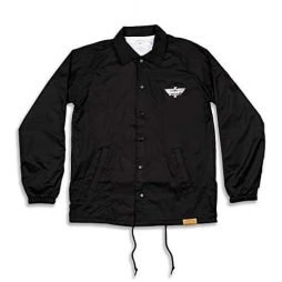 Primitive Skateboarding Thunder Bird Black Medium Coaches Jacket