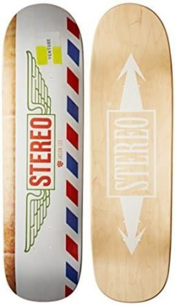 Stereo Skateboards Dollar Jason Lee Cruiser Deck, 9 x 33.5-Inch