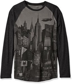Zoo York Men's City Of Dreams Long Sleeve Raglan