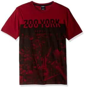 Zoo York Men's Short Sleeve City Breaker Crew Knit Shirt