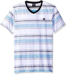 Zoo York Men's Short Sleeve Kicks V Neck