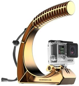 GoWorx The Original Handle Pro for Gopro Hero Cameras, Anodized Gold