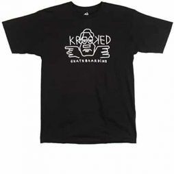 Krooked Guy T-Shirt - Black