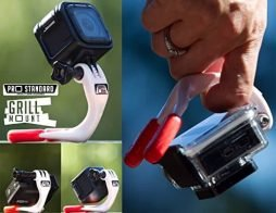 Pro Standard Grill Mount – Multi Functional GoPro Compatible Handgrip