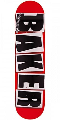 Baker Brand Logo Red with Black Letters 7.88″ Skateboard Deck