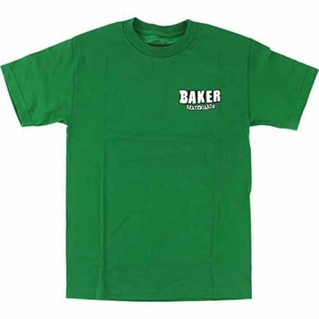 Baker Skateboards Uno Kelly Green T-Shirt – Large