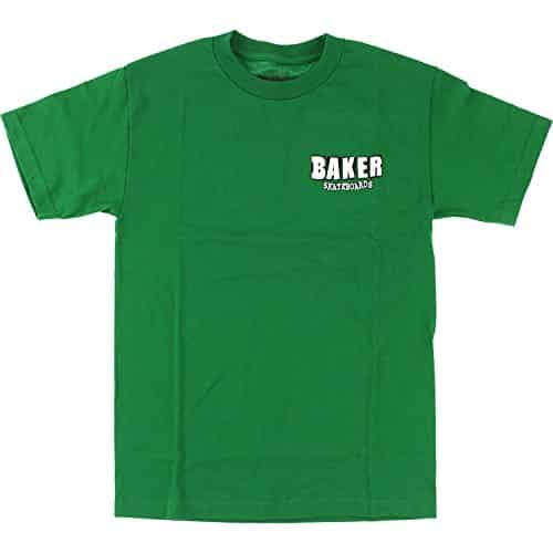 Baker Skateboards Uno Kelly Green T-Shirt - Large