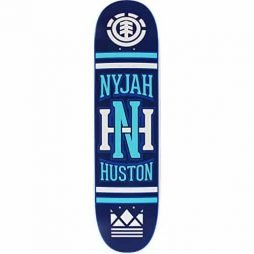 Element Skateboards Nyjah Huston Monogram Skateboard Deck – Featherlight Construction – 8″ x 32.18″
