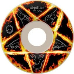 Spitfire Pentagram 53.5mm Skateboard Wheels (Set Of 4)