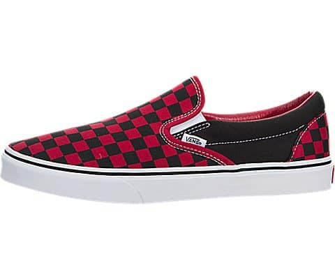 VANS-CLASSIC-SLIP-ON-FORMULA-ONE-CHECKERBOARD-SKATE-SHOES-0