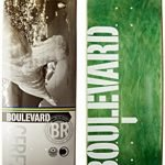 Blvd Skateboards Cityscape Cerezini Deck, 8.25-Inch
