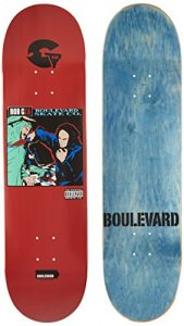 Blvd Skateboards Golden Era Rob G Skateboard Deck