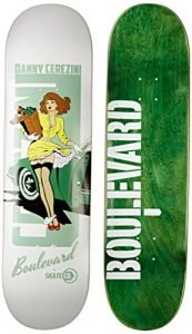 Blvd Skateboards One Off Cerezini Deck, 8.25-Inch